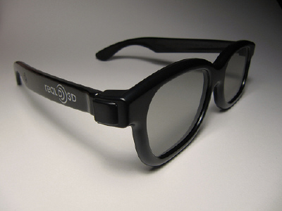 Real D 3D Glasses by donbuciak on Flickr