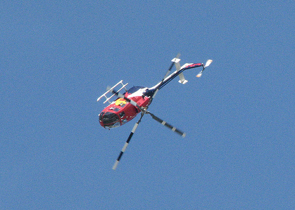 Red Bull Stunt Helicopter EAA Airventure 2008 Oshkosh by Observe the Banana on Flickr