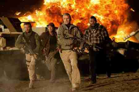 the A-Team and an explosion copyright 20th Century Fox