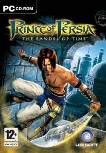 Prince of Persia: Sands of Time game box cover copyright Ubisoft