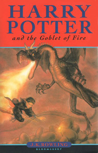 Harry Potter and the Goblet of Fire cover - copyright Giles Greenfield