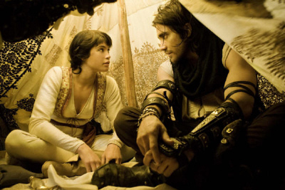Tamina and Dastan from Prince of Persia - copyright Walt Disney Pictures