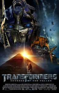transformers 2 poster copyright dreamworks paramount and hasbro