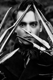 Johnny Depp as Edward Scissorhands in Edward Scissorhands
