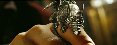 Merlin's dragon ring from the Walt Disney Pictures film The Sorcerer's Apprentice
