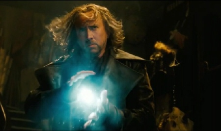 Balthazar with a plasma bolt from the Walt Disney Pictures film The Sorcerer's Apprentice