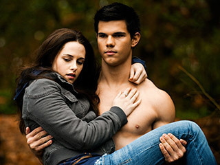 Jacob carrying Bella from the Summit Entertainment film Eclipse