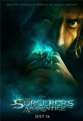 poster from the Walt Disney Pictures film The Sorcerer's Apprentice