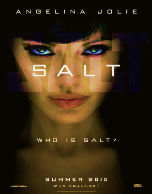 poster from the Columbia Pictures film Salt