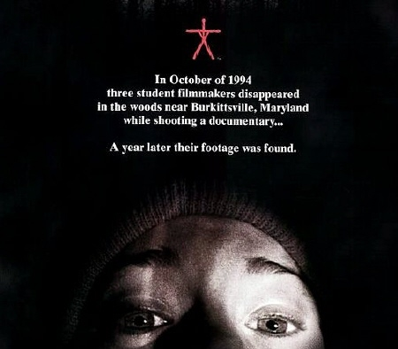 poster for the film The Blair Witch Project