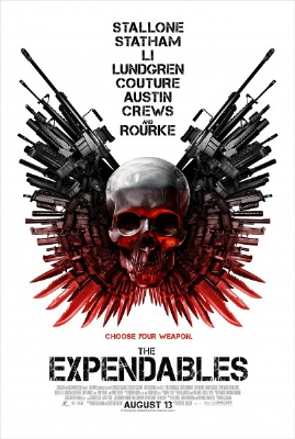 poster from the Lionsgate film The Expendables