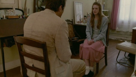 Cotton Marcus interviewing Nell from the Lionsgate film The Last Exorcism