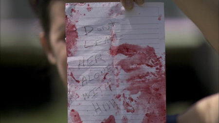 Caleb's note from the Lionsgate film The Last Exorcism