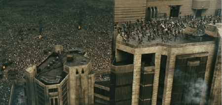 prison from the Sony Pictures film Resident Evil Afterlife