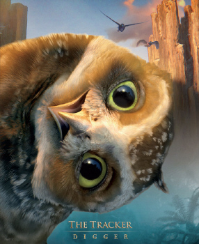 Digger the burrowing owl from the Warner Bros. Pictures film Legend of the Guardians
