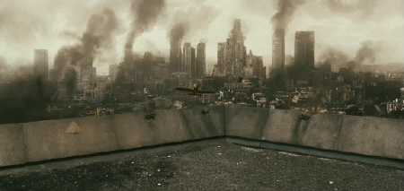 los angeles from the Sony Pictures film Resident Evil Afterlife