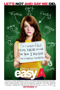 poster from the Sony Pictures film Easy A