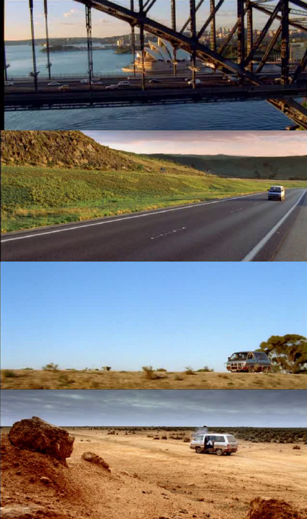 driving scenes from the movie thunderstruck