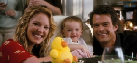 Holly, Sophie and Messer's family photo from the Warner Bros. Pictures film Life As We Know It