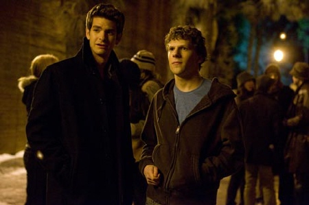 Eduardo and Mark from the Columbia Pictures film The Social Network
