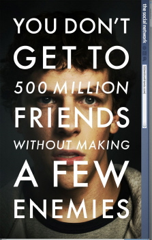 poster from the Columbia Pictures film The Social Network