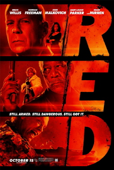 poster from the Summit Entertainment film Red