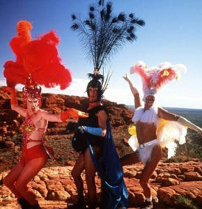 publicity shot from the film Priscilla: Queen of the Desert