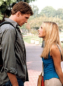 Riley and Buffy from Buffy the Vampire Slayer