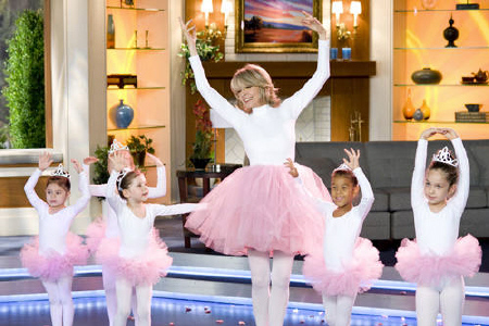 Colleen ballet dancing with children from the Paramount Pictures film Morning Glory
