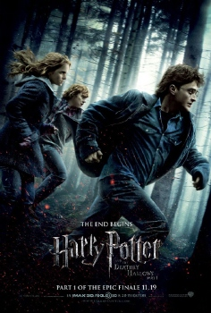 poster from the Warner Bros. Pictures film Harry Potter and the Deathly Hallows Part 1