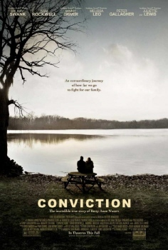 poster from the Fox Searchlight Pictures Film Conviction