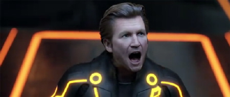 Clu from the Walt Disney Pictures film Tron Legacy