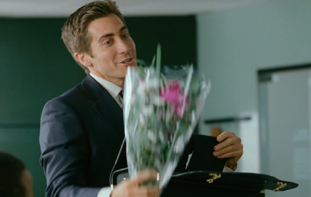 Jamie brings flowers from the 20th Century Fox film Love and Other Drugs