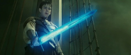 Edmund with sword from the 20th Century Fox film Chronicles of Narnia Voyage of the Dawn Treader