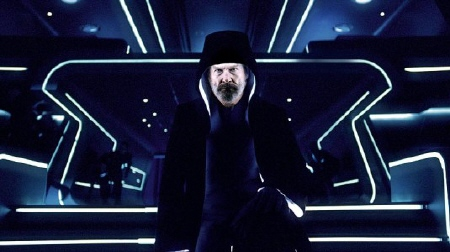 Kevin Flynn in Jedi robes from the Walt Disney Pictures film Tron Legacy
