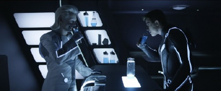 Castor and Sam Flynn from the Walt Disney Pictures film Tron Legacy