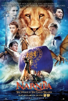 poster from the 20th Century Fox film Chronicles of Narnia Voyage of the Dawn Treader