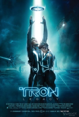 poster from the Walt Disney Pictures film Tron Legacy