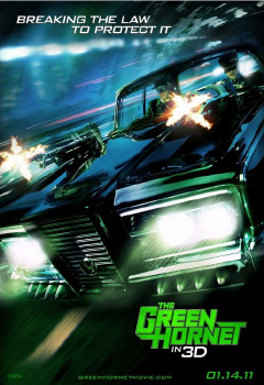 poster from the Columbia Pictures film The Green Hornet