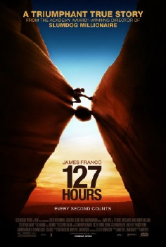 poster for the Film4 Film 127 Hours