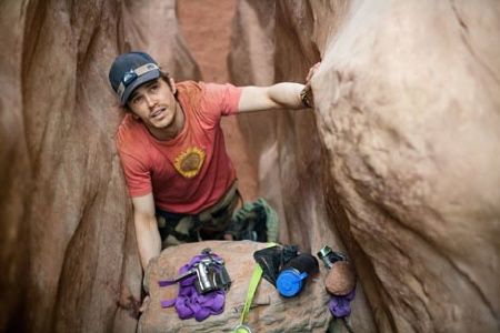 Aron's gear in the Film4 Film 127 Hours