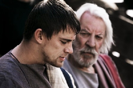 Marcus and Uncle Aquila from the Focus Features film The Eagle