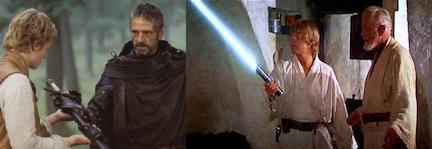 Brom is Ben Kenobi