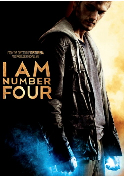 poster from the Dreamworks SKG film I Am Number Four