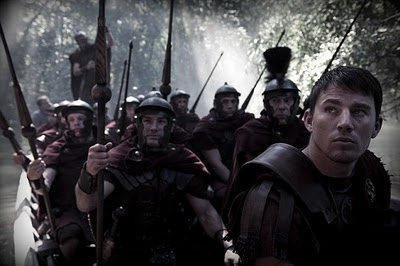 Marcus leads a legion from the Focus Features film The Eagle