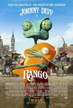 poster from the Nickelodeon Film Rango