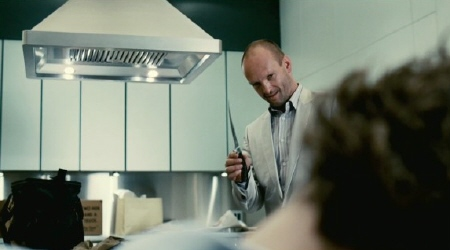 Grennady with a knife from the Relativity Media film Limitless