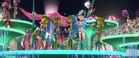 Linda dances in Carnival from the Twentieth Century Fox Animation film Rio