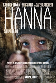 poster from the Focus Features film Hanna