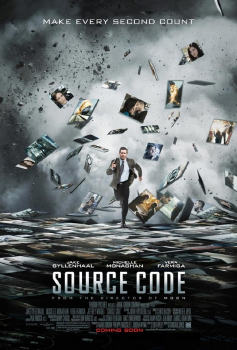 poster from the Vendome Pictures film Source Code